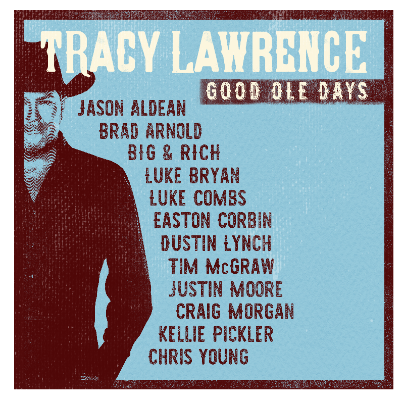 Tracy Lawrence Good Ole Days CD w/ Download