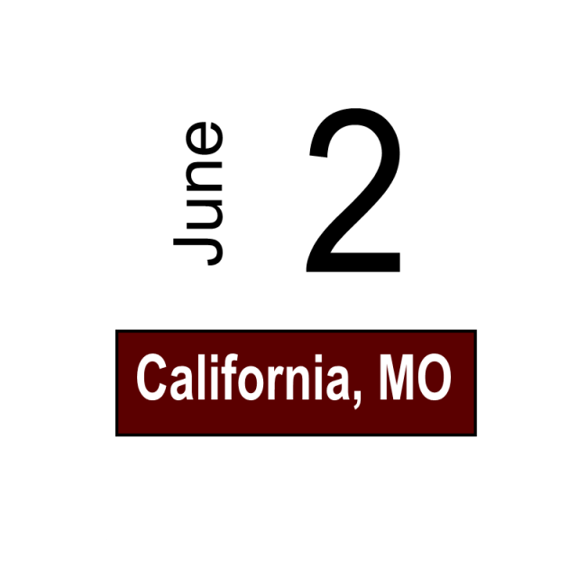 California, MO June 2