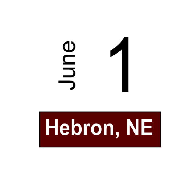 Hebron, NE June 1