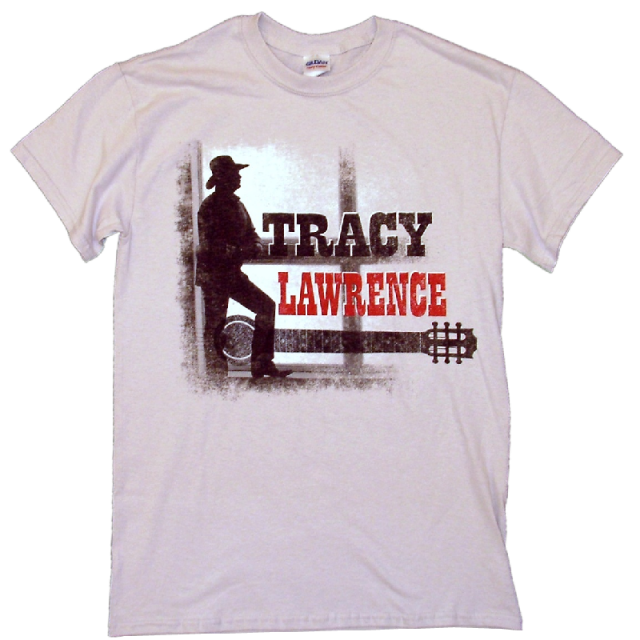 Tracy Lawrence Ice Grey Tour Tee