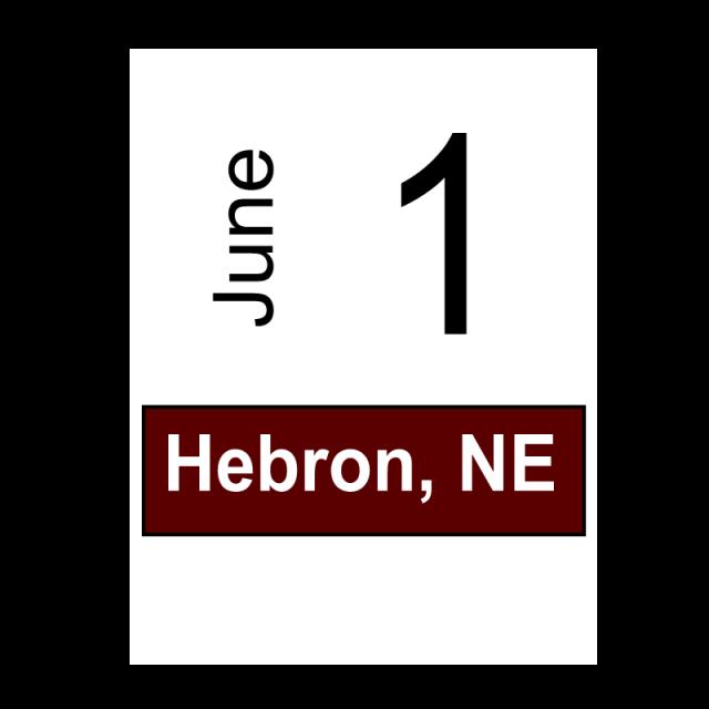 Hebron, NE June 1