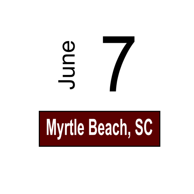 Myrtle Beach, SC June 7