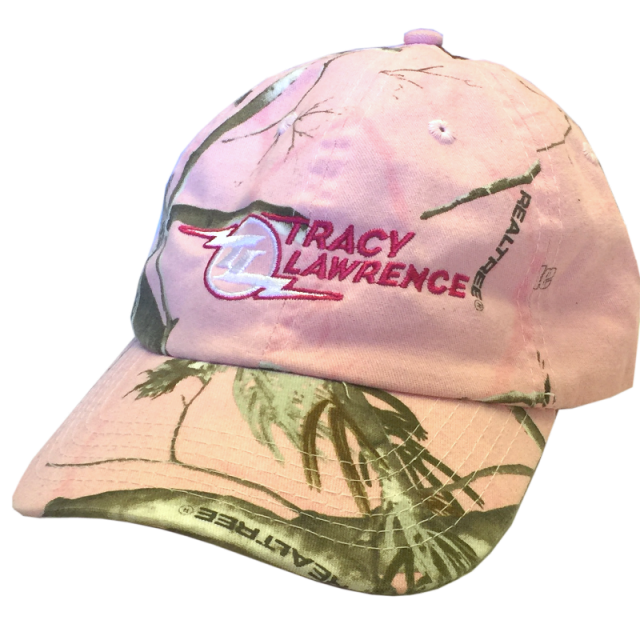 Tracy Lawrence Realtree Pink Camo Ballcap