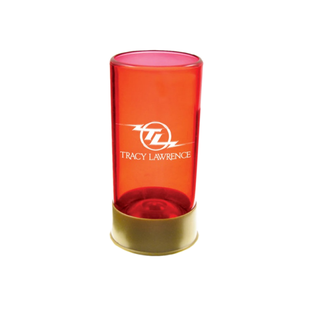 Tracy Lawrence Shotgun Shell Shotglass
