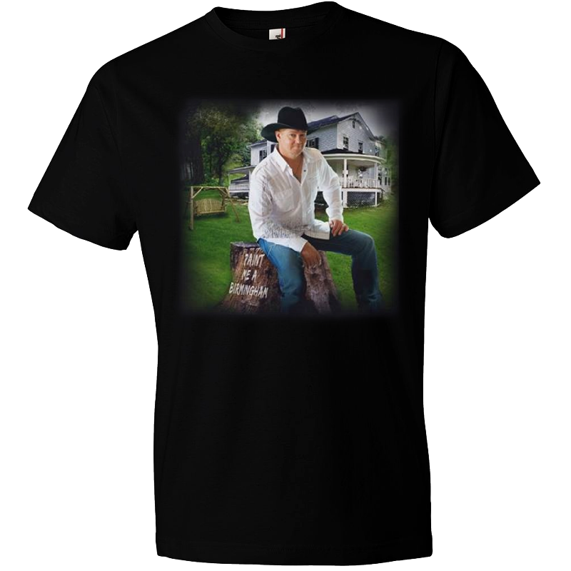 Tracy Lawrence Paint Me A Birmingham Black Tee
