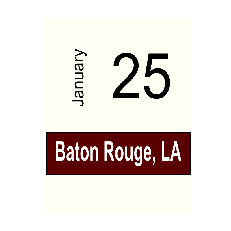 Baton Rouge, LA- January 25