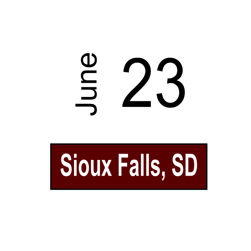 Sioux Falls, SC June 23