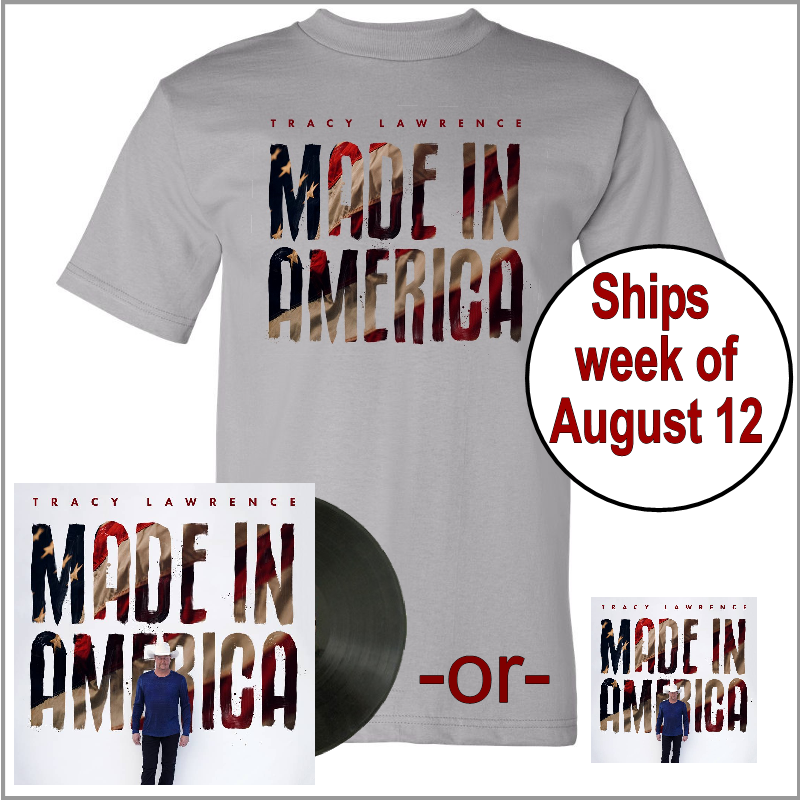 Made In America Tee Shirt Bundle- PRESALE