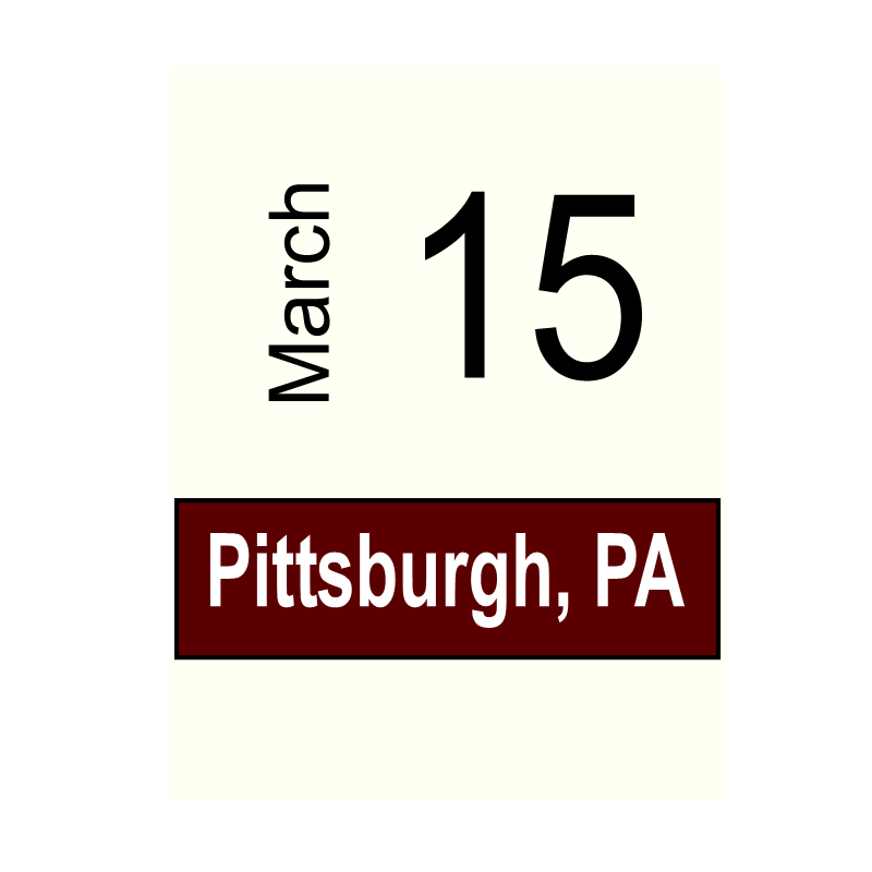 Pittsburgh, PA- March 15