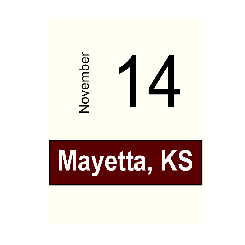 Mayetta, KS November 14