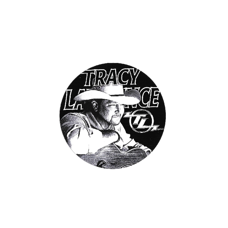 Tracy Lawrence Round Decal