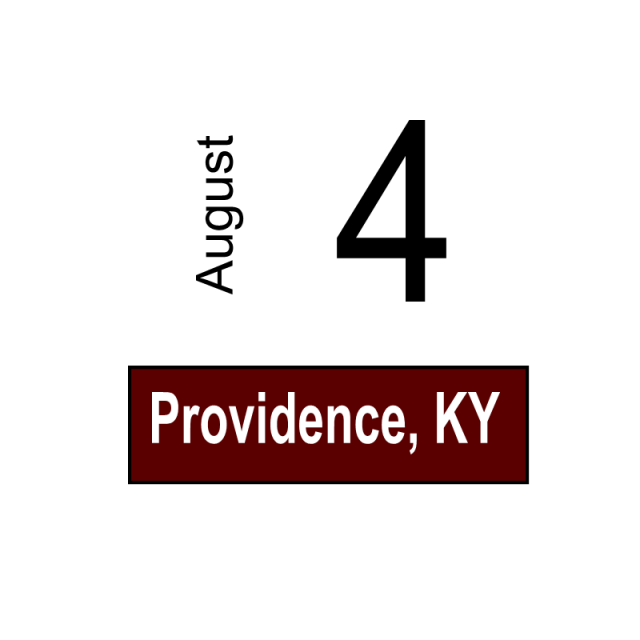 Providence, KY August 4