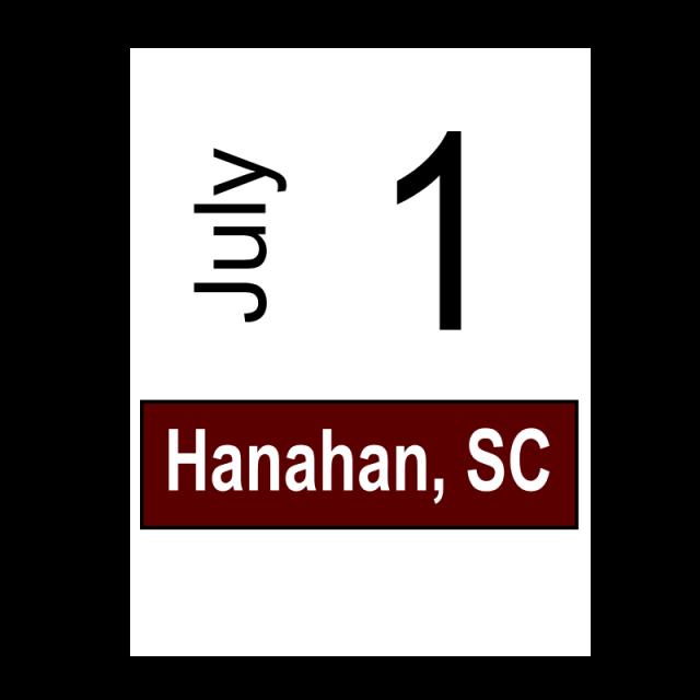 Hanahan, SC July 1