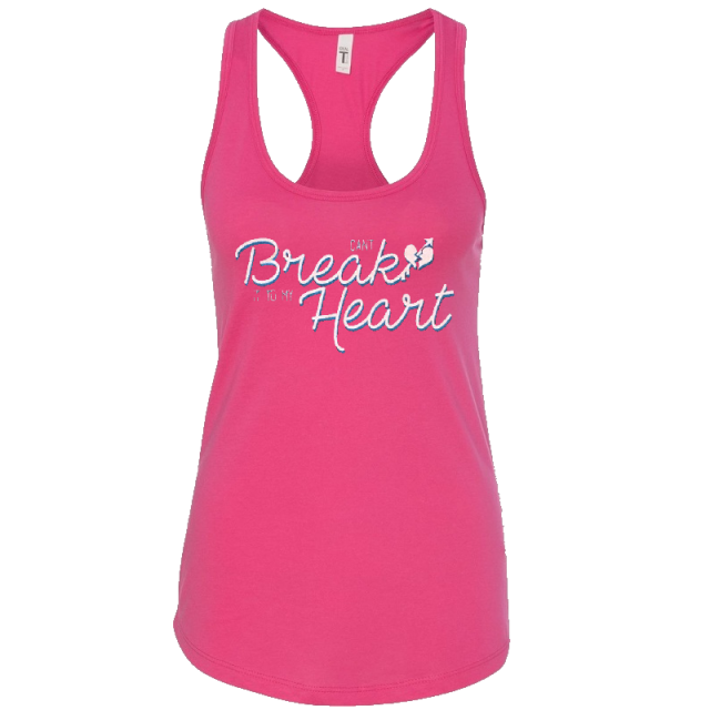 Tracy Lawrence Ladies Raspberry Racerback Tank