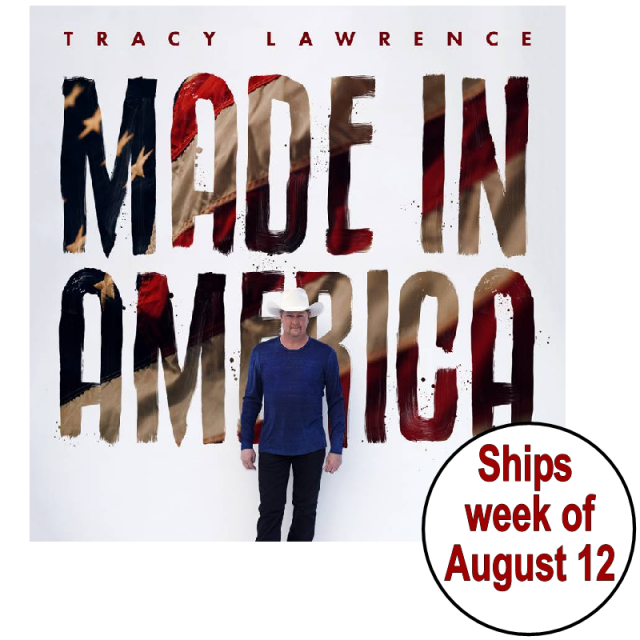 Tracy Lawrence SIGNED Made In America CD- PRESALE