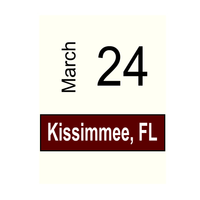 Kissimmee, FL March 24