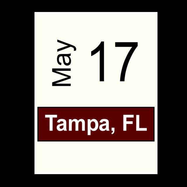 Tampa, FL- May 17