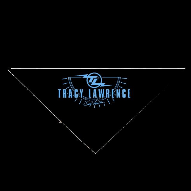 Tracy Lawrence Navy Bandana