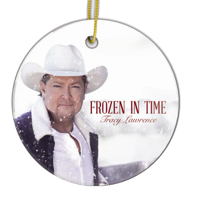 Tracy Lawrence Christmas Ornament- Frozen In Time