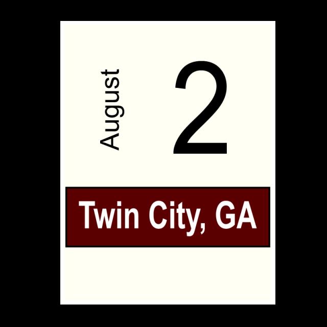 Twin City, GA- August 2