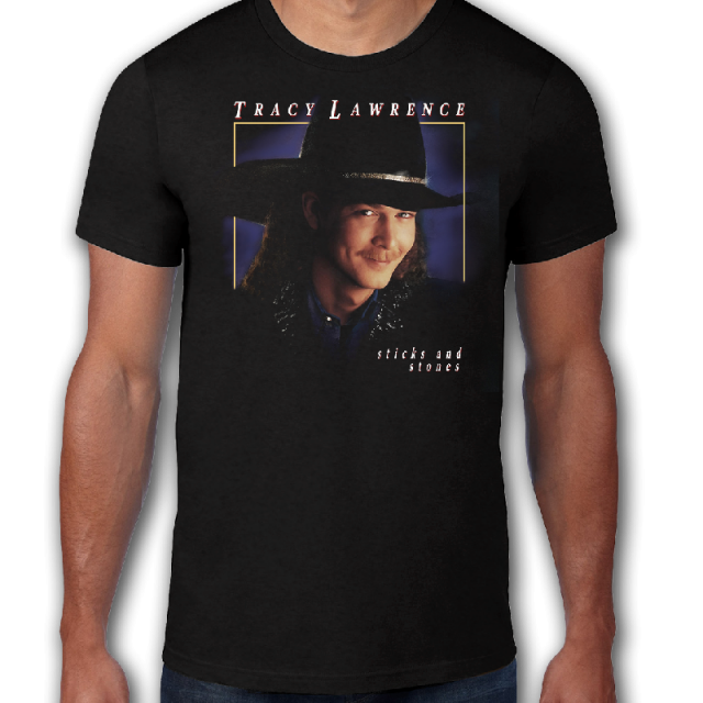 Tracy Lawrence Retro Sticks and Stones Tee
