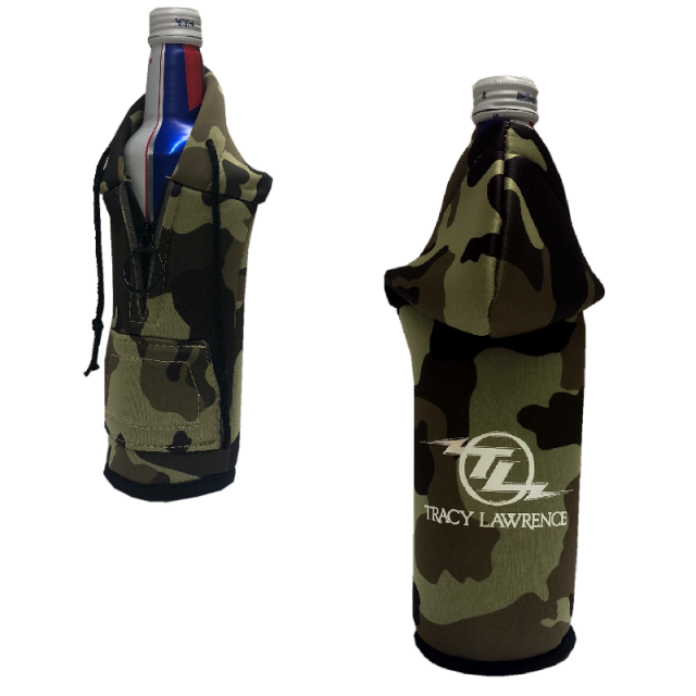 Tracy Lawrence Camo Bottle Hoodie