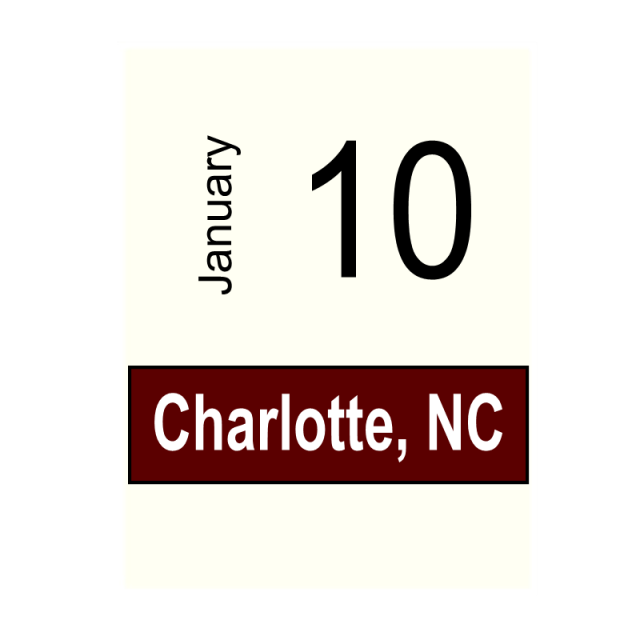 Charlotte, NC January 10