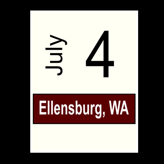 Ellensburg, WA- July 4