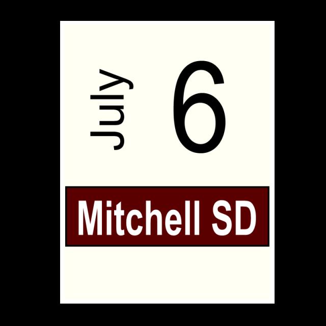 Mitchell, SD- July 6