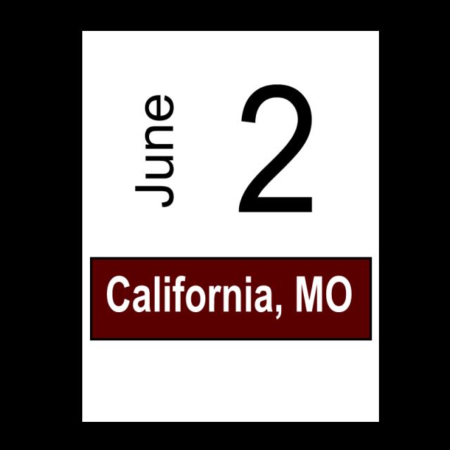 California, MO June 2