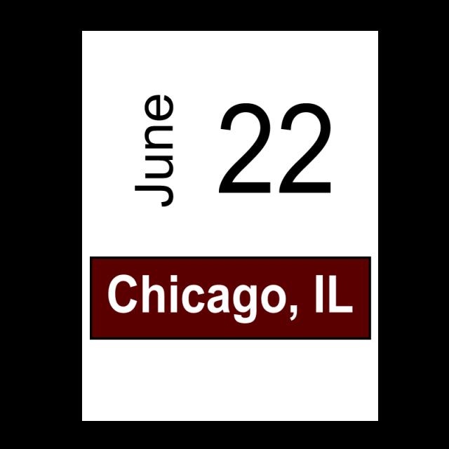 Chicago, IL June 22