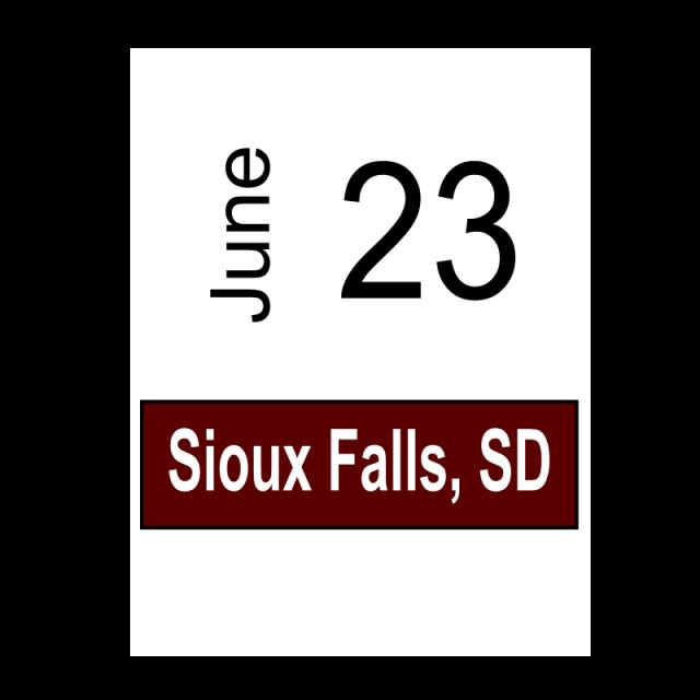 Sioux Falls, SC June 23