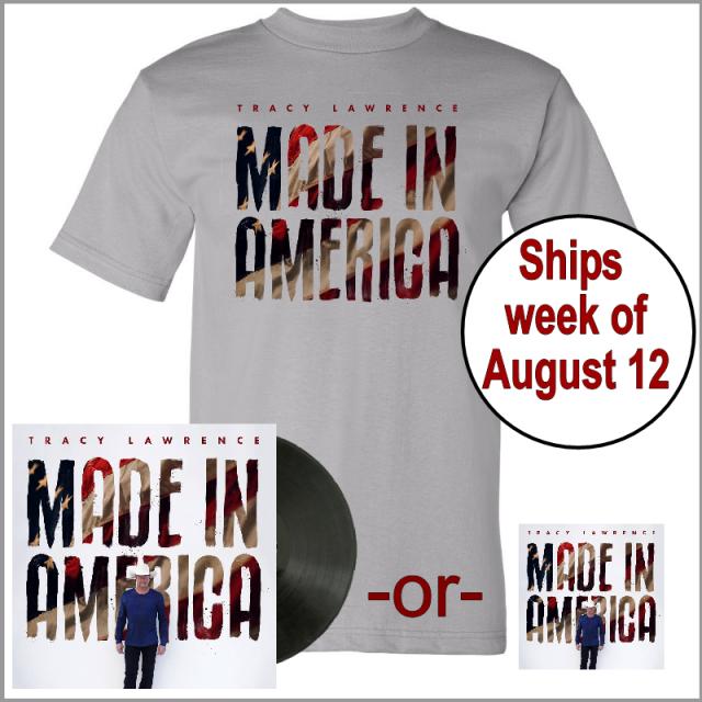 Made In America Tee Shirt Bundle- PRESALE