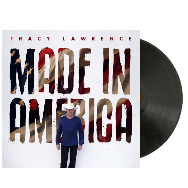 Tracy Lawrence SIGNED Made In America Vinyl