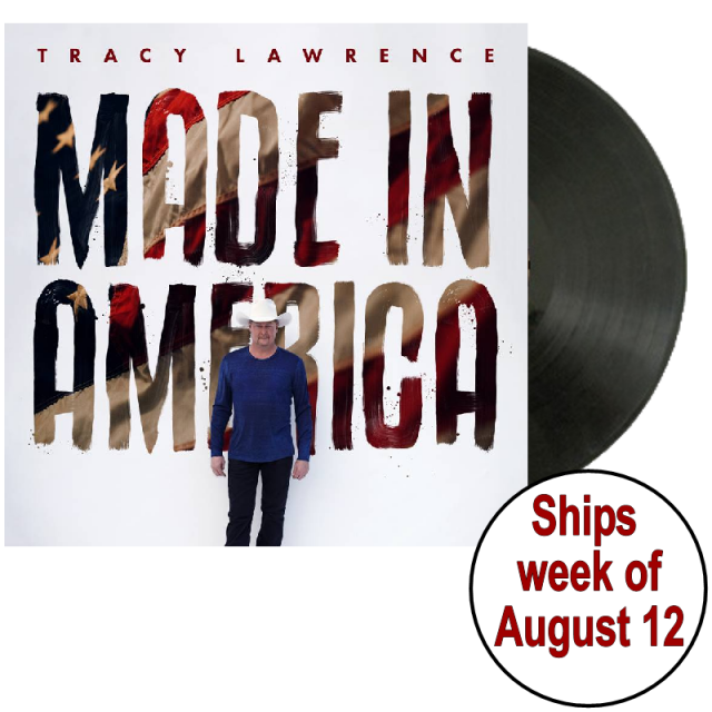 Tracy Lawrence SIGNED Made In America Vinyl- PRESALE
