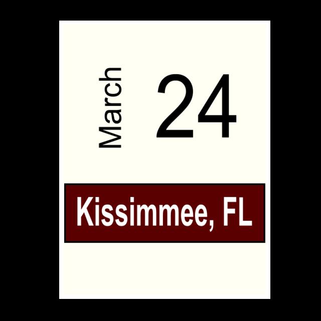Kissimmee, FL March 24