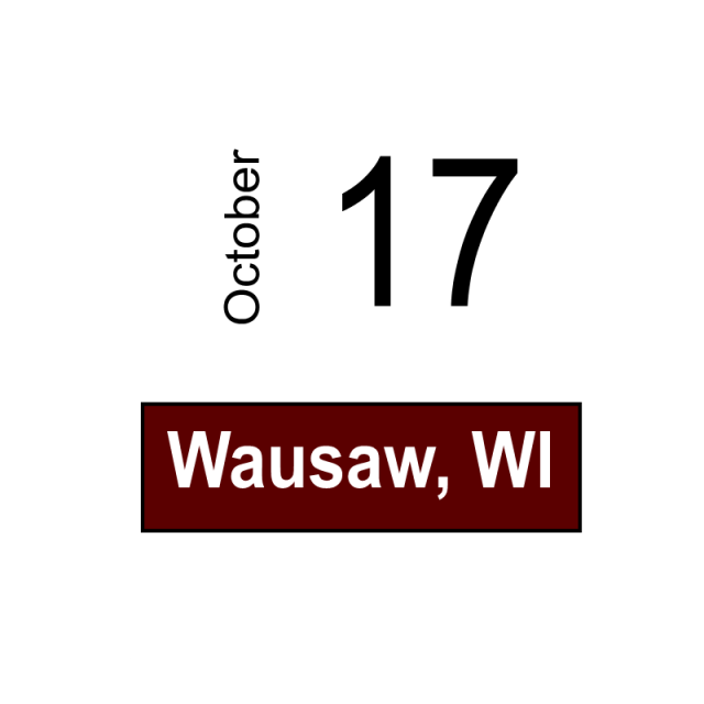 Wausaw, WI October 17