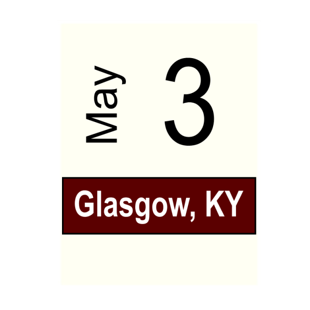 Glasgow, KY- May 3